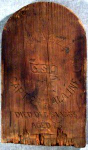 Original Marker from Johnson's Island