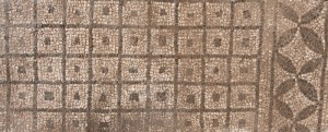 Figure 1: Section of the mosaic floor of Frigidarium I