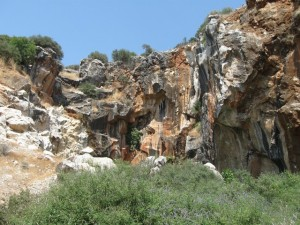 Figure 11: The quarries of Hasançavuşlar near Ephesos