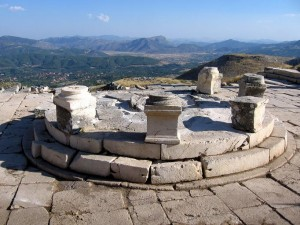 The central tholos of the Macellum after cleaning