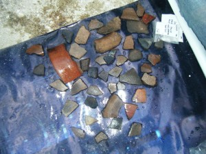 Washed sherds