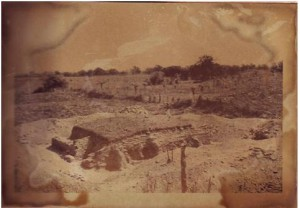 Mound 54, almost completely liberated (Cuevas 1970)
