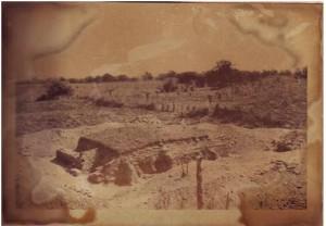 Montículo 54, casi completamente liberado (Cuevas 1970)